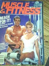 MUSCLE & FITNESS,Joe Weider's bodybuilding magazine,  , JULY  1983