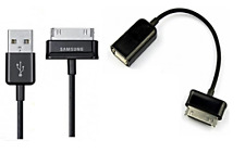 Samsung 30 Pin USB 2.0 Data Cable + OTG Cable For Samsung Galaxy TAB 1/2 Models
