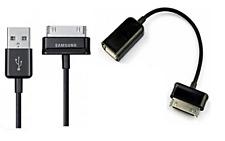 Samsung 30 Pin USB 2.0 Cavo Dati + Cavo Otg per Samsung Galaxy TAB 1/2 Modelli