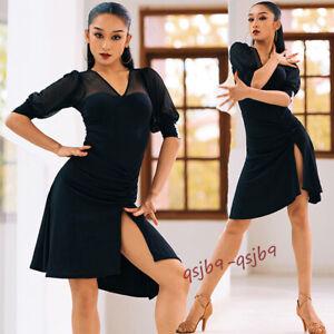 New Latin Tango Salsa Standard Practice Ballroom Dance Dress Modern Rumba Samba