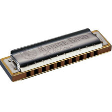 Hohner Marine Band Harmonica Diatonic 1896BX Blues Harp KEY OF F# F Sharp Gb