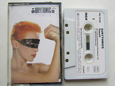 """EURYTHMICS """"TOUCH"""" CASSETTE, 1983 RCA GERMAN MADE TAPE,  PLAY TESTED."""