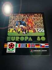 PANINI EURO 80 ALBUM EMPTY LEER VIDE 1980 STICKERS BADGE SET MINT 74 82 84 88 90