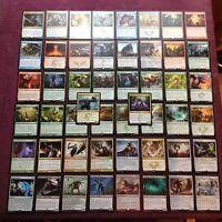 Lot de 50  rares en francais  (symbol doré) - MTG Magic the gathering