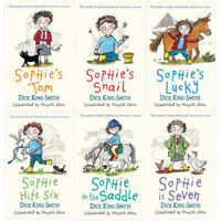 Dick King-Smith Sophie Stories 6 Books Collection Set Pack Sophie's Snail, Lucy