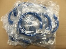 Lot of 25 CAT6-07-BL 7' RJ45 Male-Male patch cable Channel Compliant ROHS