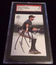 TROY TULOWITZKI 2008 SP AUTHENTIC Autographed Signed Baseball Card SGC 96 ROCKIE
