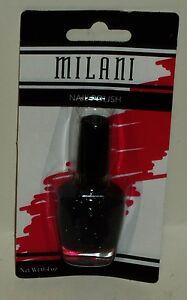 Milani Nail Polish Nail Color Glitter SILVER DAZZLE #522 NIP