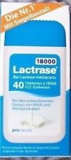 Lactrase 18000 FCC 40 Tbl Lattasi 18.000 Per Prendere Pack Dispenser Apf