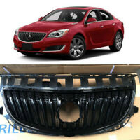 Gloss Black Front Bumper Grill Grille Assembly for 2015 2016 2017 Buick Regal