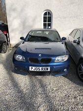 BMW 1er 120d 6 Gang blau metallic Rechtslenker 5 Türer Alufelgen