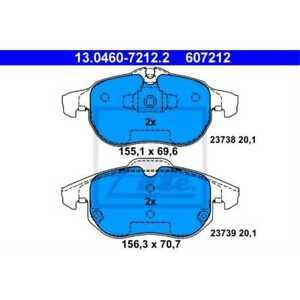 ATE Pastiglie Freno 13.0460-7212.2 Ceppi Freno Opel Vectra Mk II (C) Cc