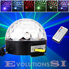 12W LED RGB BOLA LUZ ILUMINACIÓN EFECTO DISCO DJ FIESTA PARTY AC 90-240V 180°MP3