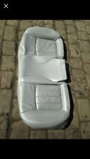 CHRYSLER 300C LEATHER REAR SEAT BOTTOM SKIN COVER ONLY GREY