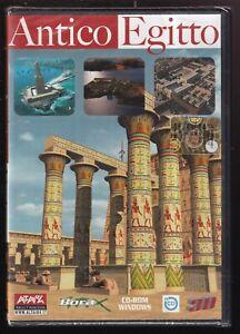 EBOND  Antico Egitto - ricostruzioni templi piramidi 3D - CD-ROM D566624
