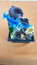 Indoor Water Fountain Feature Waterfall Ornament 28cm Tall