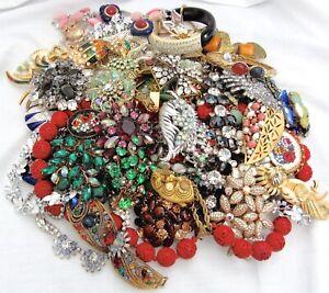 VTG To Modern 65 Pc Jewelry Lot Hobe Juliana Lisner Coro BSK Sterling Monet 925+