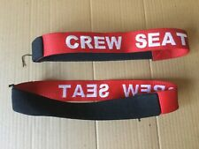Airline Aviation Cabin Crew Seat Stopper Reserve Belt Strap Band