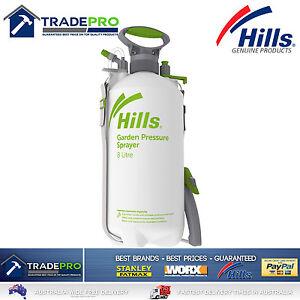 Hills 8Ltr Sprayer Professional Nozzle 8L Chemical Garden Pets 8 Litre Bottle