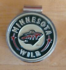 "Minnesota Wild 1"" Golf Ball Marker 2 Sided & hat clip ~ NHL Licensed"