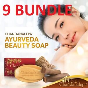 CHANDANALEPA Ayurveda Herbal Cinnamon and Beauty Soap Solution for your skin