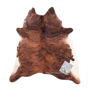 Exotic White Belly Cowhide Rug