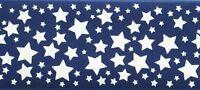 Blue Stars Wallpaper Border 5802855