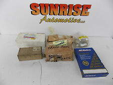 LOT OF 6 BRAKE PADS AND RETAINERS GM AND MOPAR OEM NOS