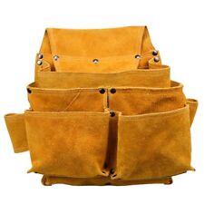 GE Travail Sac Outil Pochette ceinture en cuir pour charpentier électricien d'entretien travailleur