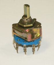 UNIDEX ROTARY SWITCH # 249  1 pole 10 position non shorting old stock
