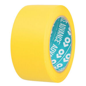 Advance AT68 100mm x 33M White PVC Building Tape - 1 Roll - Free Delivery
