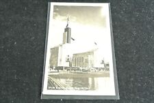 1939 World's Fair Post Card RPPC U.S.S.R. Exhibit Building