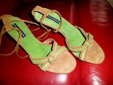 Gorgeous Ralph Lauren Stunning ankle tie Sandals UK 6 US 8 Worn Once