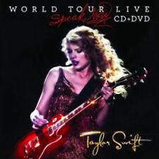 Taylor Swift - Speak Now World Tour Live NEW CD + DVD