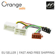 Wiring Lead Harness Adapter for Hyundai Tucson 2009- ISO stereo plug adaptor