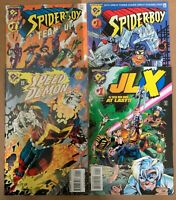 AMALGAM 4 issue lot SPIDER-BOY Speed Demon JLX Team Up HIGH GRADE