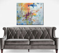 40x30 Original Abstract Art - Colorful Modern Abstract Painting - US Artist