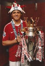 MAN UNITED: JAVIER 'CHICHARITO' HERNANDEZ SIGNED 6x4 TROPHY PHOTO+COA**PROOF**