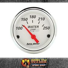 "AUTOMETER WATER TEMP GAUGE ARCTIC WHITE ELEC 2-1/16"" 100-250°F - AU1337"