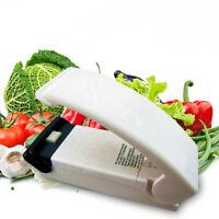 New White Portable Sealing Tool Heat Mini Handheld Plastic Bag Impluse Sealer