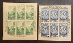 TDStamps: US Stamps Scott#735 751 Mint H OG 2 Sheets