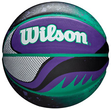 "Wilson Official 21 Series Basketball Green Purple 29.5"""