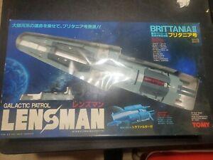 Vintage Lensman BRITTANIA II Galactic PatrolShip Brand New TOMY 1984