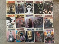 THE REALM LOT #1-8 SET OF 15 BOOKS ALL NM IMAGE COMICS 2017