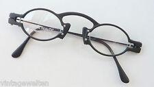 R. Cianci Brille sehr ausgefallen schwarz DesignerBrillenfassung GR:L occhiali