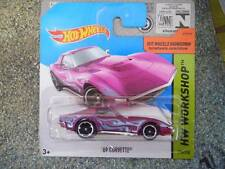 Hot Wheels 2014 #214/250 Chevy 1969 CORVETTE Purple Batch M