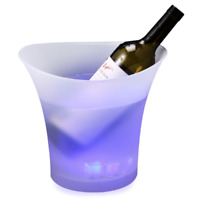 12Pc Flash Ice Cube Submersible Light Glow Celebration New Year's Eve Party Teal