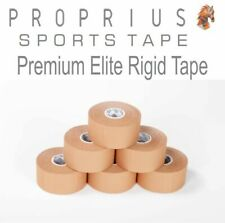 Rigid-Premium Elite Sports Strapping Tape 6 rolls x 38mmx13.7m