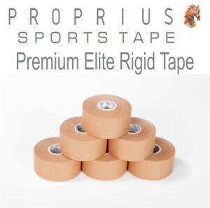 Rigid Premium Elite Rigid Sports Strapping Tape 6 rolls x 38mmx13.7m