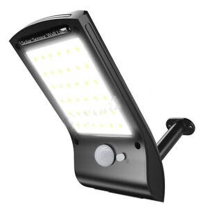 Waterproof Solar LED Wall Light Outdoor PIR Motion Sensor Street Garden Lamp RK
